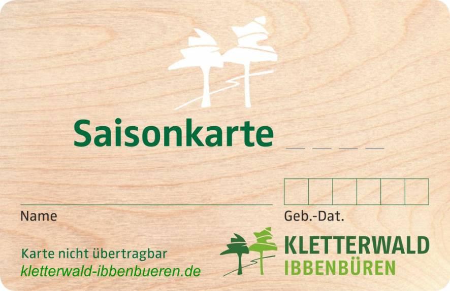Saisonkarte Stud./Schüler/Senioren >ab 60 J